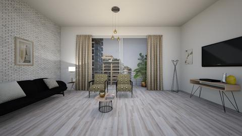 O - Living room - by rebeca_scmoraes