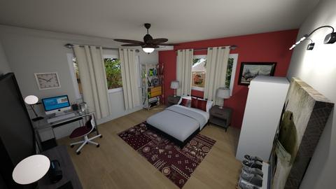 Carlos - Bedroom - by alejavsantos