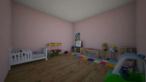 kids room girl  - Classic - Kids room - by iopqwer