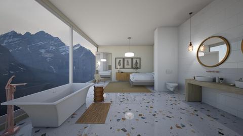 Terrazzo  - Glamour - Bedroom  - by daisychainhippytaniwha