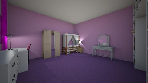 Girls Bedroom - Feminine - Bedroom  - by happydesigner1000