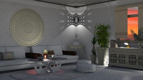 moon - Living room  - by nat mi