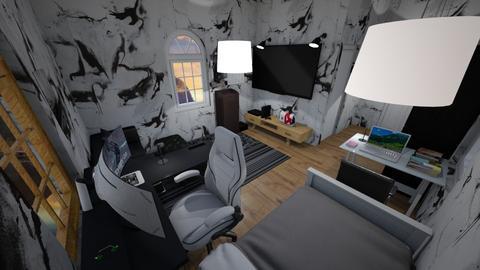 Gaming bedroom 3 - by nanta_gay