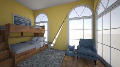 bedroom - Modern - Bedroom  - by sururu