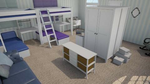 teanager girls room - Modern - Kids room  - by peachellie
