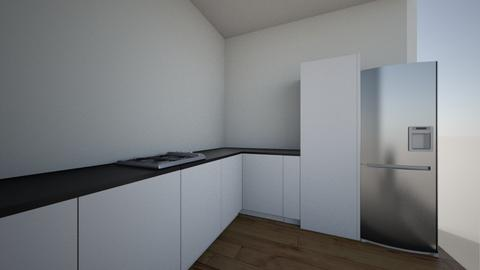 Kitchen 3d SR - Minimal - Kitchen  - by manju Vg