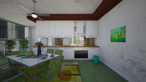 Verde - Modern - Kitchen  - by Tupiniquim
