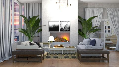 Contest 1 - Living room  - by kiwimelon711