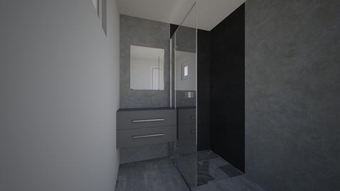 Lille_bad Graa - Bathroom  - by sannefoxmar