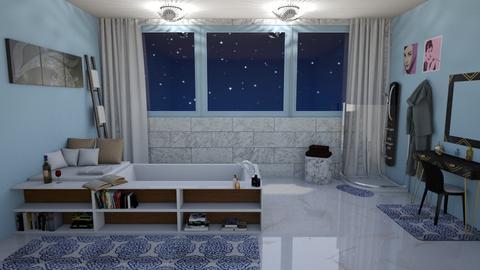 Oasis in Marble - Bathroom  - by KarJef