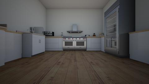 a u shaped kitchen - Modern - Kitchen  - by mchesnut42