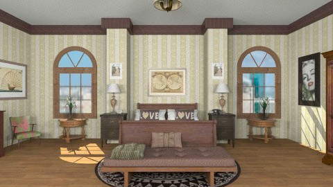 bedrom - Classic - Bedroom  - by GALE88