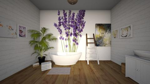 Lavender - Modern - Bathroom  - by CitrusSunrise