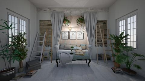 Perfect Balance - Modern - Bedroom  - by evabarrett