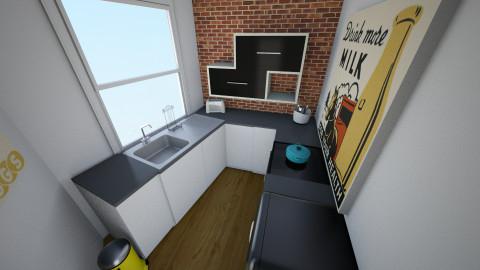 131 Portland Street - Eclectic - Kitchen  - by rachelbbridge