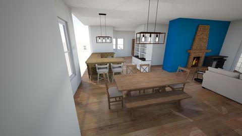 walls gone - Living room  - by trinasandberg