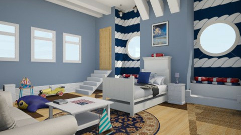 Nautical Room - Bedroom - by Ashleymg