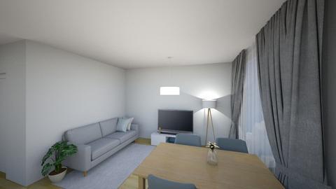 Salon detale - Living room - by KatarzynaLaszczyk