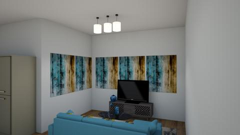 posters on two walls - Living room  - by tng