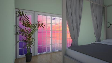 Paradise on Earth - Minimal - Bedroom  - by LittleEponine