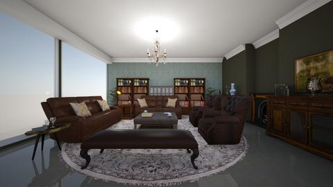 Joels living - Rustic - Living room  - by Keilla