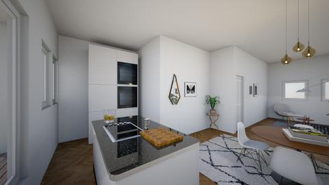 Interieur ontwerp 50 m2 - by Maylan van der Grift