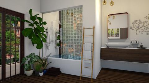 Bath - Rustic - Bathroom  - by Kendal Peterson
