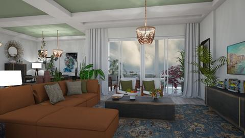 Stormy day Livingroom - Living room  - by matina1976