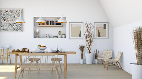 Bistro Morning - Dining room  - by diegobbf
