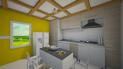 simple - Minimal - Kitchen  - by nioosh88