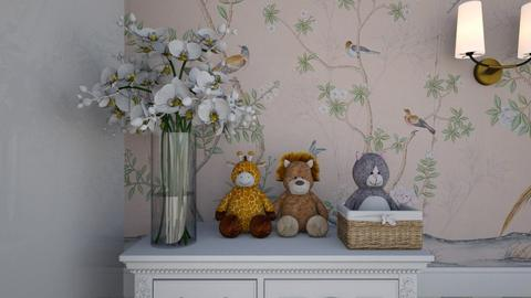 Twin Room Close Up 4 - Kids room  - by Fofinha