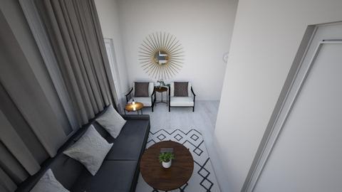JAPANDI LOUNGE VIEW5 - Minimal - Living room - by moon_safi