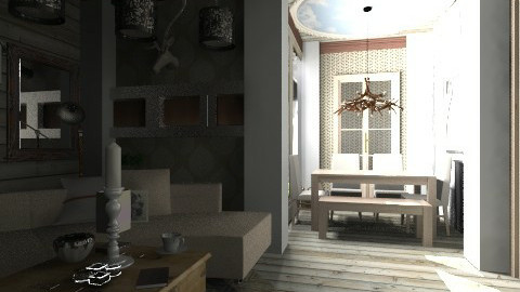 finn_ished - Rustic - Living room  - by aduropluvia