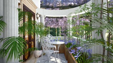 Design 146 Small Balcony in the Garden - Garden  - by Daisy320