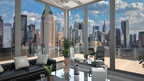 Manhattan design - Office  - by starinthesky1987