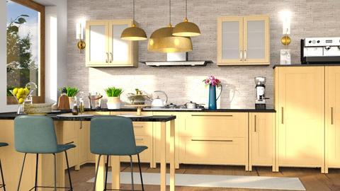 dfvf - Kitchen  - by iraa
