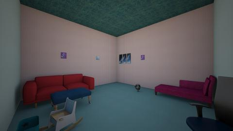 Friday Challenge 4 - Modern - Living room  - by 21RibaudoV