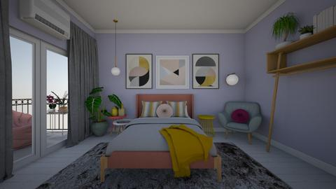 modern playful bedroom  - Modern - Bedroom - by ppaige_2007