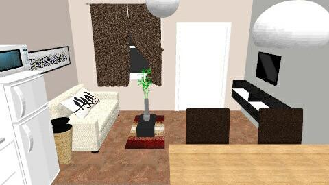 Aguaducho agus - Living room  - by Agusmartinucci