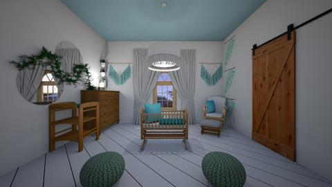 Boho nursery - Kids room  - by LHSHousing