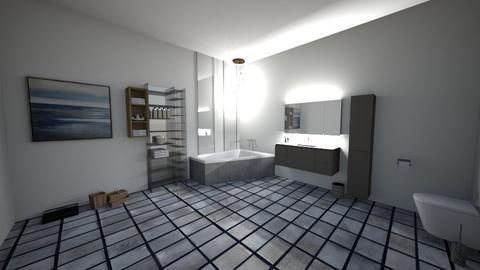 Bathroom - Modern - Bathroom  - by BrussellRussell