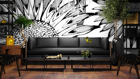 Girasoles - Living room - by LuzMa HL