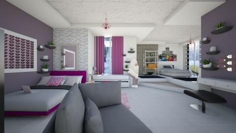Bedroom design Tanja - Bedroom - by TanjaaS