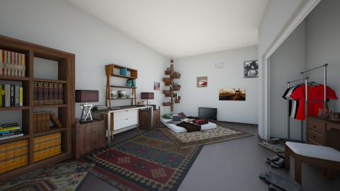 oihugyft - Rustic - Bedroom  - by kelseyc