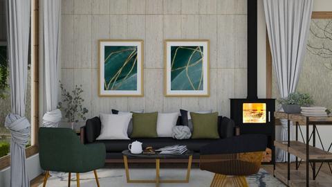 natural light - Modern - Living room  - by moomusr