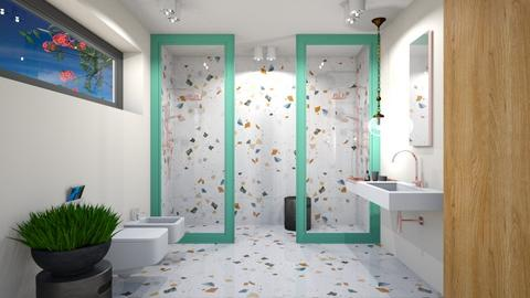 Confetti Shower - Bathroom  - by 3rdfloor