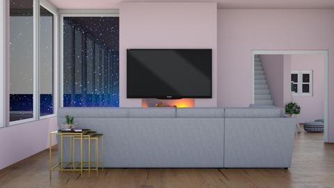 Contest 1 - Living room  - by Pompompudding