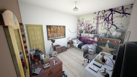 Vintage Bedroom - Vintage - Bedroom  - by ManonDesign