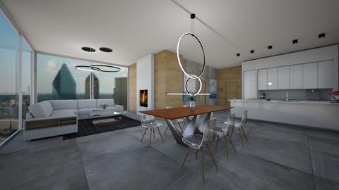 Modern house - Modern - Dining room - by Zosia Zakrzowska