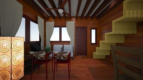 wooden house - by selperu